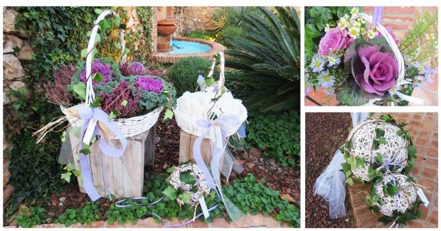 detalles boda arroz flores